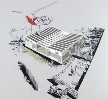 CSH plastic house